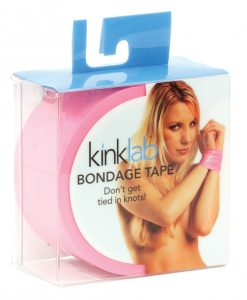 KinkLab Female Bondage Tape - Pink