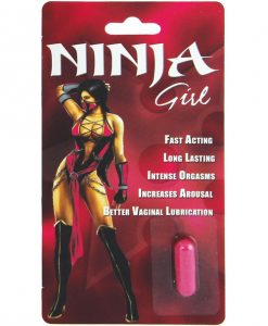 Ninja Girl Sexual Enhancer for Women - 1 Capsule Blister
