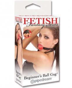 Fetish Fantasy Series Beginner Ball Gag - Red