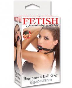 Fetish Fantasy Series Beginner's Ball Gag - Black