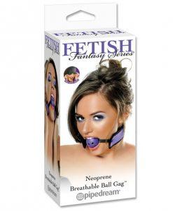Fetish Fantasy Series Neoprene Breathable Ball Gag