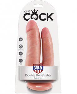 King Cock Double Penetrator - Flesh