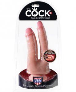 King Cock Plus Dual Density Double Penetrator