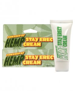 Hemp Stay Erect Cream - .5 oz
