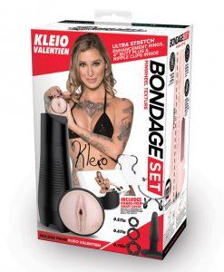 Pornstar Signature Series Kleio Valentien Bondage Stroker Set
