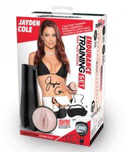 Pornstar Signature Series Jayden Cole Endurance Training Stroker Set
