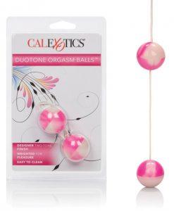 Duotone Orgasm Balls - Pink